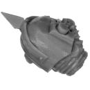 Forge World Bitz: Horus Heresy - Death Guard - Legion Heads Upgrade - Head E - MK IV