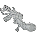 Warhammer 40k Bitz: Blood Angels - Death Company - Weapon N - Flamer Pistol, Right