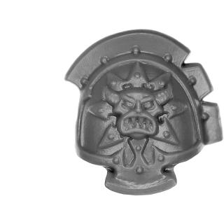Warhammer 40K Bitz: Chaos Space Marines - Chaos Terminators - Shoulder Pad D