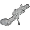 Warhammer 40k Bitz: Blood Angels - Death Company - Weapon Q - Inferno Pistol, Left