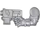 Warhammer 40k Bitz: Orks - Ork Stormboyz - Arm B - Slugga, Right