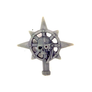 Warhammer 40K Bitz: Chaos Space Marines - Chaos Space Marines - Accessoire K - Champion Icon