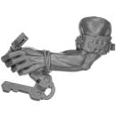 Warhammer 40k Bitz: Orks - Flash Gitz - Arm G - Links,...