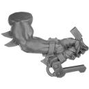 Warhammer 40k Bitz: Orks - Flash Gitz - Arm H - Links, Handgriff
