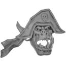 Warhammer 40k Bitz: Orks - Flash Gitz - Kopf F - Käptn