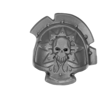 Warhammer 40K Bitz: Chaos Space Marines - Chaos Terminators - Shoulder Pad F