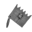 Warhammer 40k Bitz: Orks - Flash Gitz - Accessoire V12 - Trophänstangän-Spitze XII