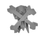 Warhammer 40k Bitz: Orks - Flash Gitz - Accessoire V14 - Trophänstangän-Spitze XIV