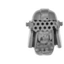 Warhammer 40k Bitz: Orks - Mega Nobz - Kopf C