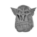 Warhammer 40k Bitz: Orks - Mega Nobz - Kopf F