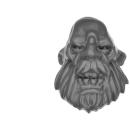 Warhammer 40k Bitz: Astra Militarum - Bullgryns, Ogryns, Nork Deddog - Head D - Ogryn