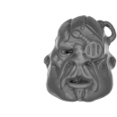Warhammer 40k Bitz: Astra Militarum - Bullgryns, Ogryns, Nork Deddog - Head E - Boneead