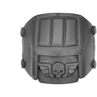 Warhammer 40k Bitz: Astra Militarum - Bullgryns, Ogryns, Nork Deddog - Accessoire N - Schulterpanzer
