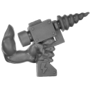 Warhammer 40k Bitz: Orks - Mek Gun - Grotarm F - Links, Bohrer
