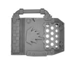 Warhammer 40k Bitz: Orks - Mek Gun - Hauptkörper L - Plattform, Front
