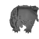 Warhammer 40k Bitz: Space Wolves - Venerable Dreadnought, Bjorn, Murderfang - Accessory B - Shoulder Decor