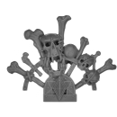 Warhammer 40k Bitz: Space Wolves - Venerable Dreadnought, Bjorn, Murderfang - Accessory E - Murderfangs Banner