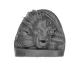 Warhammer 40k Bitz: Space Wolves - Venerable Dreadnought, Bjorn, Murderfang - Head A - Murderfang