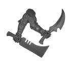 Warhammer 40k Bitz: Dark Eldar - Wracks - Arm K - Left, Blades