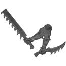 Warhammer 40k Bitz: Dark Eldar - Wracks - Arm L - Rechts,...