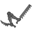 Warhammer 40k Bitz: Dark Eldar - Wracks - Arm L - Right, Blades