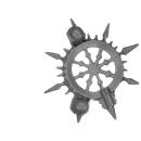 Warhammer AoS Bitz: CHAOS - Gorebeast Chariot - Accessory A - Banner Top, Left