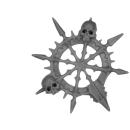 Warhammer AoS Bitz: CHAOS - Gorebeast Chariot - Accessory B - Banner Top, Right