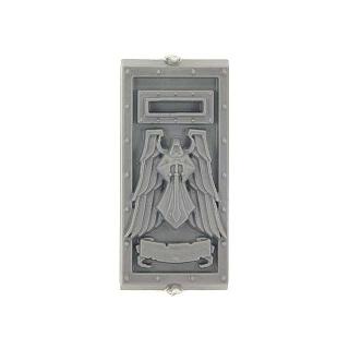 Warhammer 40K Bitz: Dark Angels - Ravenwing Accessories - Torso G - Dreadnought Front