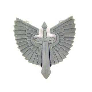 Warhammer 40K Bitz: Dark Angels - Ravenwing Accessories - Accessoire M1 - Symbol I