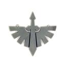 Warhammer 40K Bitz: Dark Angels - Ravenwing Accessories - Accessoire M3 - Symbol III
