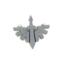 Warhammer 40K Bitz: Dark Angels - Ravenwing Accessories - Accessoire M6 - Symbol VI