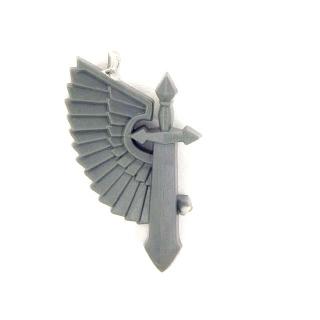Warhammer 40K Bitz: Dark Angels - Ravenwing Accessories - Accessoire M7 - Symbol VII