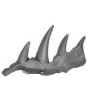 Warhammer AoS Bitz: Chaos - Höllenjäger - Accessoire J - Horn (Pferd A)
