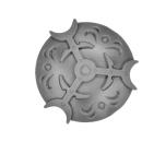 Warhammer AoS Bitz: Chaos - Höllenjäger - Schild B