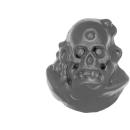 Warhammer AoS Bitz: CHAOS - Putrid Blightkings - Kopf L - (King D)
