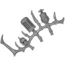 Warhammer 40k Bitz: Dark Eldar - Talos / Cronos - Accessory H - Left, Bone Rack