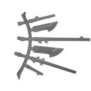 Warhammer 40k Bitz: Dark Eldar - Talos / Cronos - Accessory I - Right, Antennae Rack