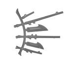 Warhammer 40k Bitz: Dark Eldar - Talos / Cronos - Accessory J - Left, Antennae Rack