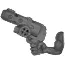 Warhammer 40k Bitz: Orks - Gretchin - Arm A - Right, Gretchin, Slugga