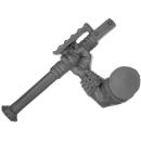 Warhammer 40k Bitz: Orks - Gretchin - Arm D - Right, Runtherd, Weapon Pole