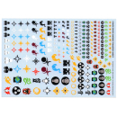 Transfer Sheets Warhammer 40k: Chaos Space Marine...