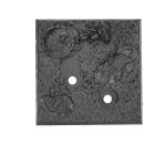 Base: GW Warhammer Fantasy - Eckbase N - 40 mm x 40 mm