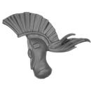 Warhammer 40k Bitz: Harlequins - Harlequin Troupe - Head G - Back