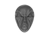 Warhammer 40k Bitz: Harlequins - Harlequin Troupe - Head J - Mask III
