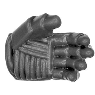 Warhammer 40k Bitz: Space Marines - Devastator Squad 2015 - Arm K - Hand V, Left, Open