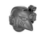Warhammer 40k Bitz: Space Marines - Devastortrupp 2015 - Kopf E - MK VI