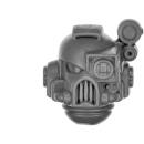 Warhammer 40k Bitz: Space Marines - Devastator Squad 2015 - Head G