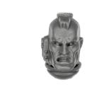 Warhammer 40k Bitz: Space Marines - Assault Squad - Head I - Sergeant