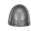 Warhammer 40k Bitz: Space Marines - Assault Squad - Shoulder Pad E - Sergeant
