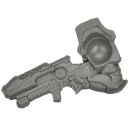 MANTIC: Deadzone / Warpath - Enforcers - Peacekeepers - Weapon F - Heavy Assault Rifle